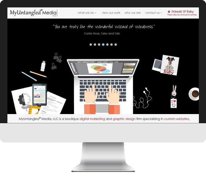 Artist Websites, Nonprofit Websites   MyUntangled Media